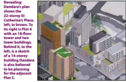 South Bristol Voice image and text showing proposed blocks